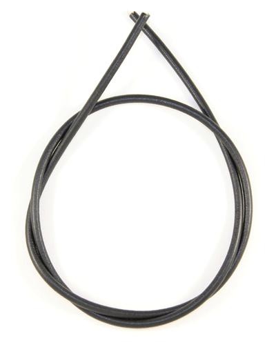 Шнурок кожаный d = 5,0 мм черный