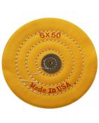 Круг муслиновый жёлтый 152х50